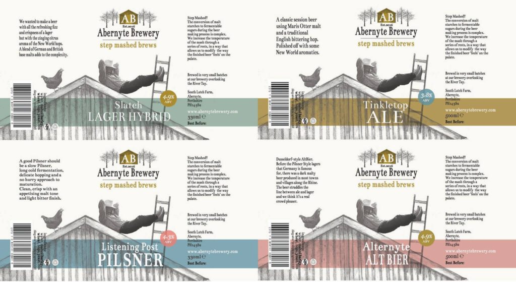 abernyte beer labels