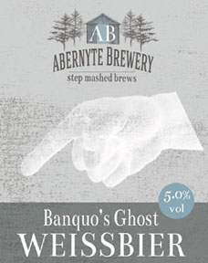 Banquo's Ghost Wheat Beer 5.0% ABV