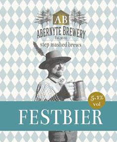 Abernyte Festbier 5.1% ABV