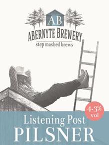 Listening Post Pilsner, 4.3% ABV