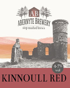 Kinnoull Red 4.7% ABV