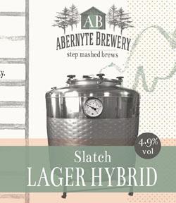 Slatch Lager/IPA Hybrid 4.9% ABV